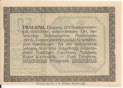 50 Heller (Thalgau) -  reverse