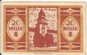 20 Heller (Salzburg) – obverse