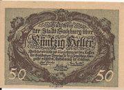 50 Heller (Salzburg) – obverse