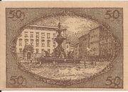 50 Heller (Salzburg) – reverse