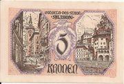 5 Kronen (Salzburg) – obverse