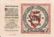 5 Kronen (Salzburg) – reverse