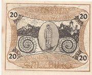 20 Heller (Salzburg - Landesverband der Kriegsinvaliden) – obverse