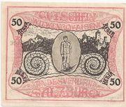 50 Heller (Salzburg - Landesverband der Kriegsinvaliden) – obverse