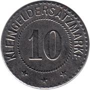 10 Pfennig - Salzungen – reverse