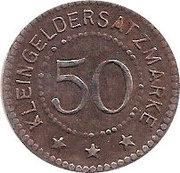 50 Pfennig - Salzungen – reverse