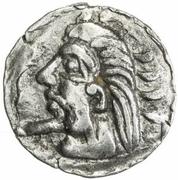 1 Obol (Antiochos imitation; Samarqand; regular bust) – obverse