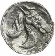 1 Obol (Antiochos imitation; Samarqand; regular bust) – reverse