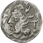 1 Obol (Antiochos imitation; Samarqand; regular archer) – obverse
