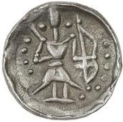1 Obol (Antiochos imitation; Samarqand; regular archer) – reverse