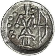 1 Obol (Antiochos imitation; Samarqand) – reverse