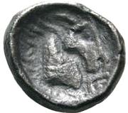 1 Hemidrachm (Antiochos imitation; Samarqand) – reverse