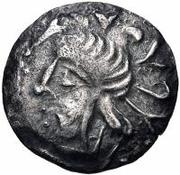 1 Hemidrachm (Antiochos imitation; Samarqand) – obverse