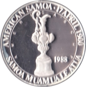 5 Dollars (America's Cup) – obverse