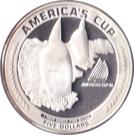 5 Dollars (America's Cup) – reverse