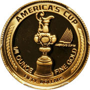 50 Dollars (America's Cup) -  reverse