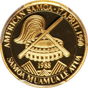 50 Dollars (America's Cup) – obverse