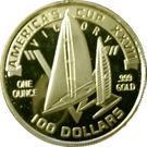 100 Dollars (Americas Cup) – reverse