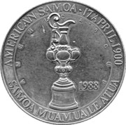 25 Dollars (America's Cup) – obverse