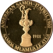 1 Dollar (America's Cup) – obverse