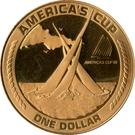 1 Dollar (America's Cup) – reverse