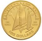 100 Dollars (America's Cup/ Olympics Mule) – obverse