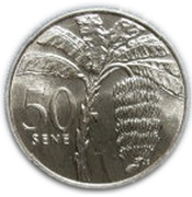 50 Sene - Tanumafili II – reverse