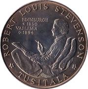 1 Tala - Tanumafili II (Robert Louis Stevenson) – reverse