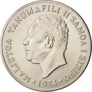 1 Tala - Tanumafili II – obverse