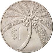 1 Tala - Tanumafili II – reverse