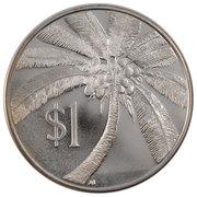 1 Tala - Tanumafili II (Silver Proof Issue) – reverse