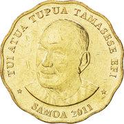 2 Tālā - Tui Atua Tupua Tamasese Efi -  obverse