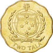 2 Tālā - Tui Atua Tupua Tamasese Efi -  reverse