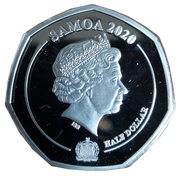 ½ Dollar - Elizabeth II (Thank you) – obverse