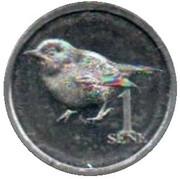 1 Sene (Samoan parrot finch) – reverse