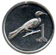 1 Sene (Ma'oma'o) – reverse