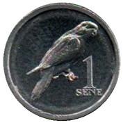 1 Sene (Blue-crowned lorikeet) – reverse