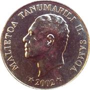 10 Sene - Tanumafili II – obverse