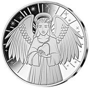 ½ Dollar (Guardian Angle) – reverse
