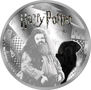 ½ Dollar(Rubeus Hagrid) – reverse