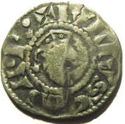 Denier - Etienne I (à la tête imberbe à droite) – obverse