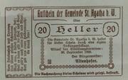 20 Heller -  obverse