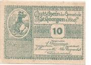 10 Heller (St. Georgen am Ybbsfelde) -  obverse