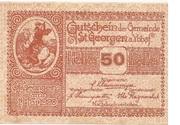 50 Heller (St. Georgen am Ybbsfelde) -  obverse