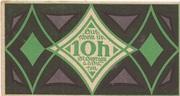 10 Heller (St. Georgen an der Gusen) – obverse
