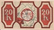 20 Heller (St. Georgen an der Gusen) – reverse