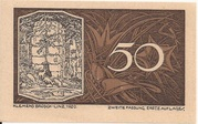 50 Heller (St. Georgen an der Gusen) – obverse