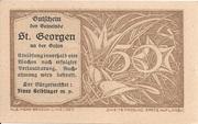 50 Heller (St. Georgen an der Gusen) – reverse