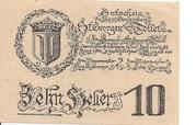 10 Heller (St. Georgen und Tollet) – obverse