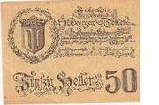 50 Heller (St. Georgen und Tollet) – obverse